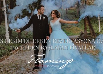 """Düğün Dış Çekimi' nde 10 Yıllık Tecrübe: """"Flamingo PhotoArt"""""""