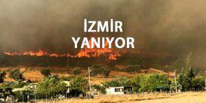 İzmir Yangını Devam Ediyor Son Dakika Haberi 2019